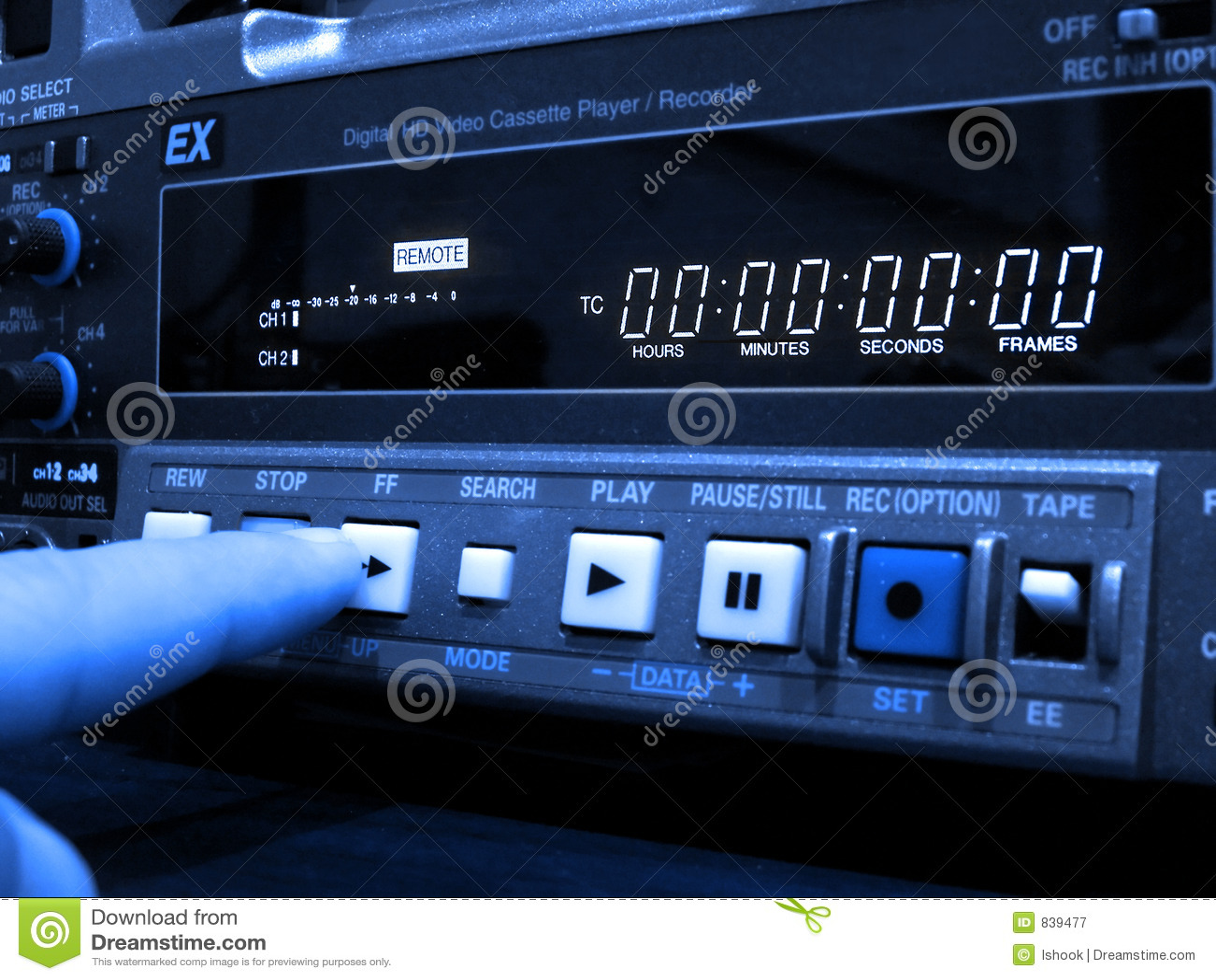 Professional VCR