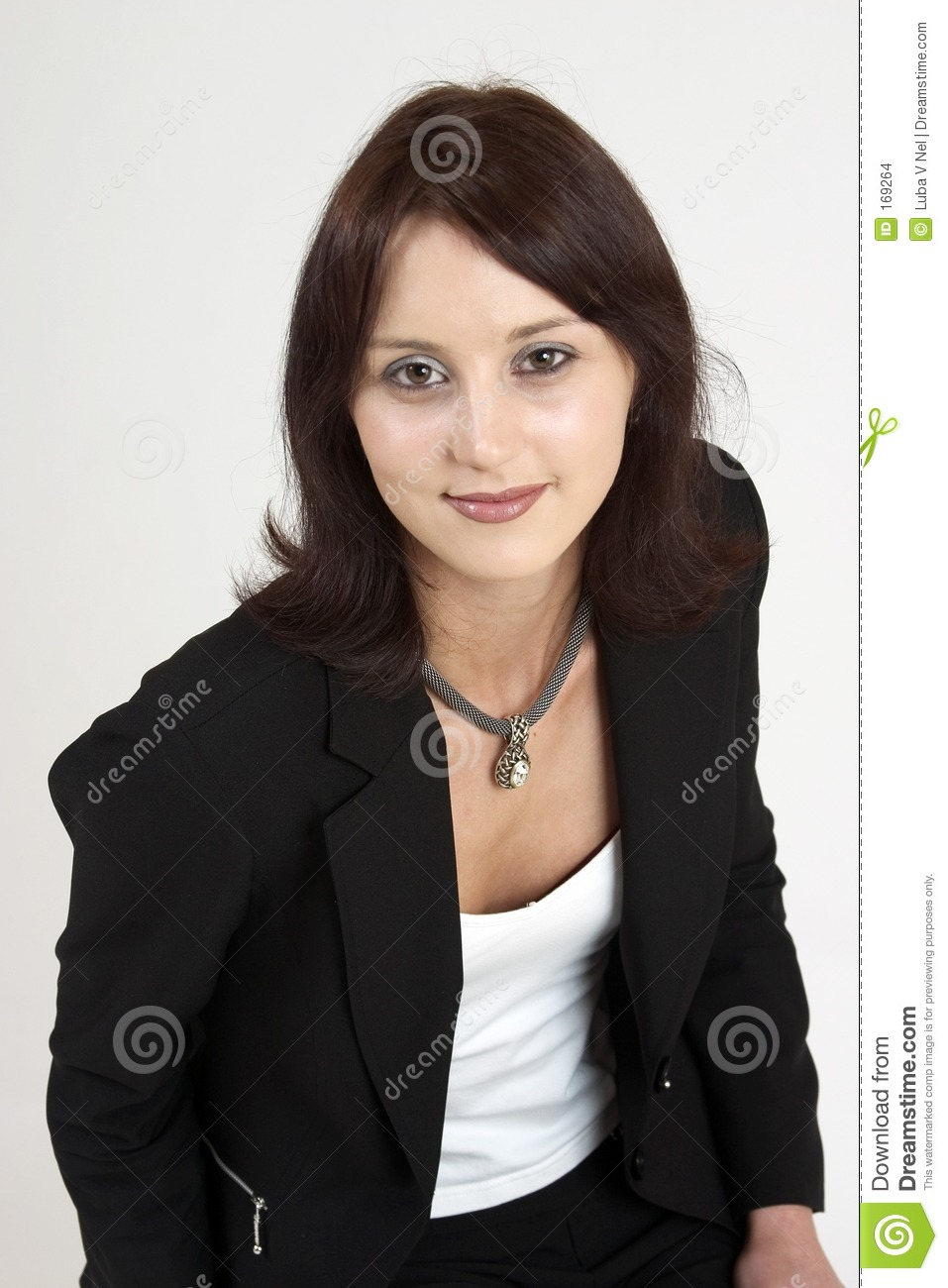 Professional woman portrait