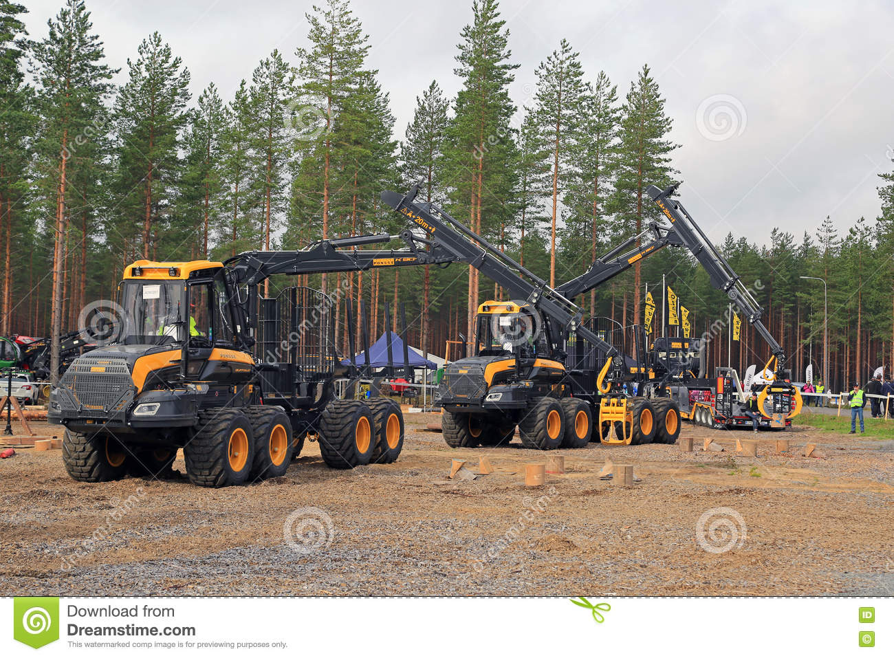 Professionals in Forest Machine Operator Competition