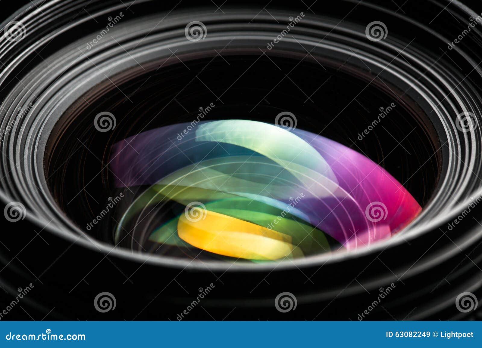 Professioneel modern DSLR-camera lense ow zeer belangrijk beeld