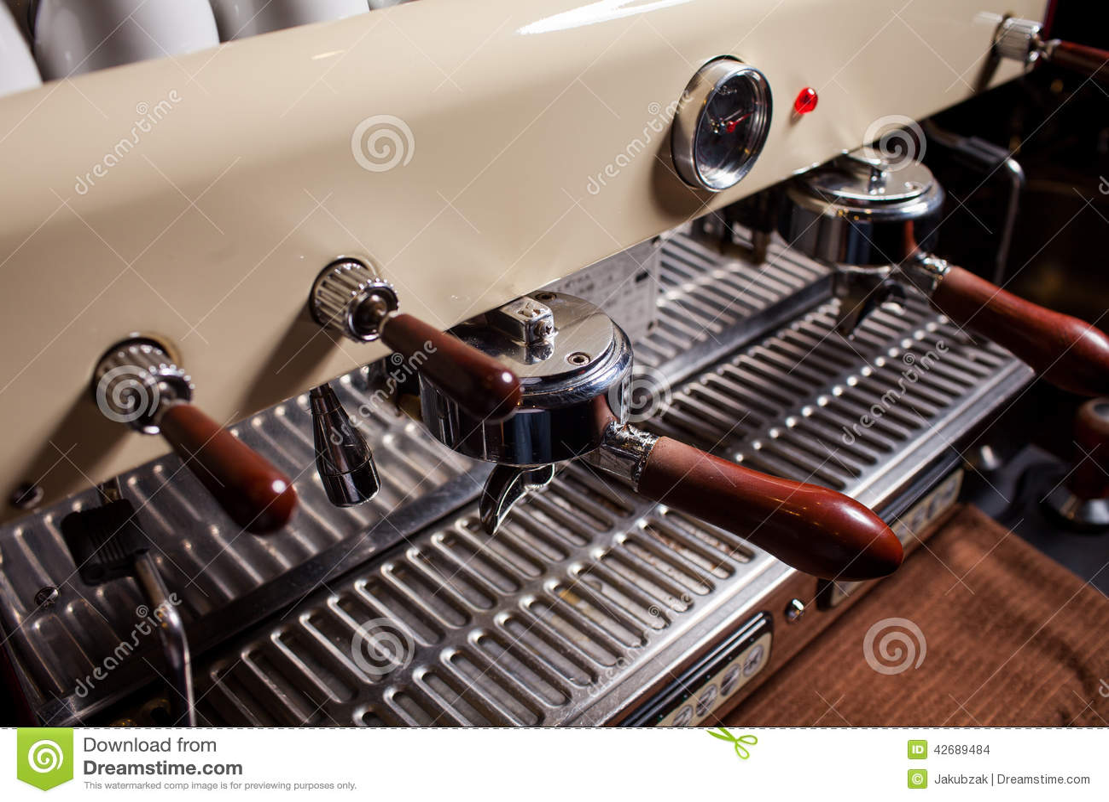 espresso machine restaurant