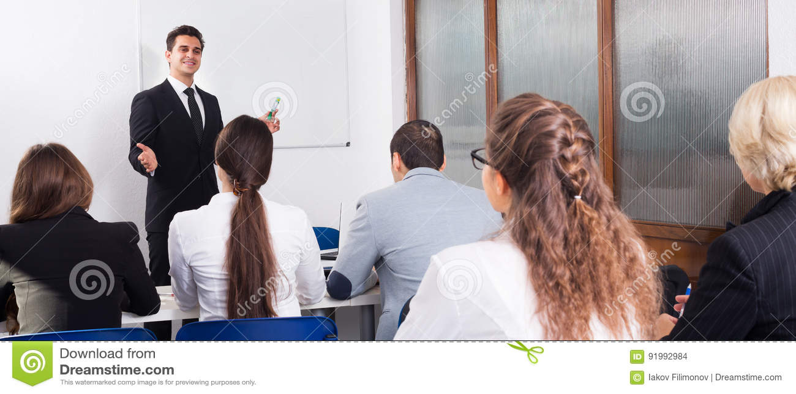 Professor och professionell på kurser