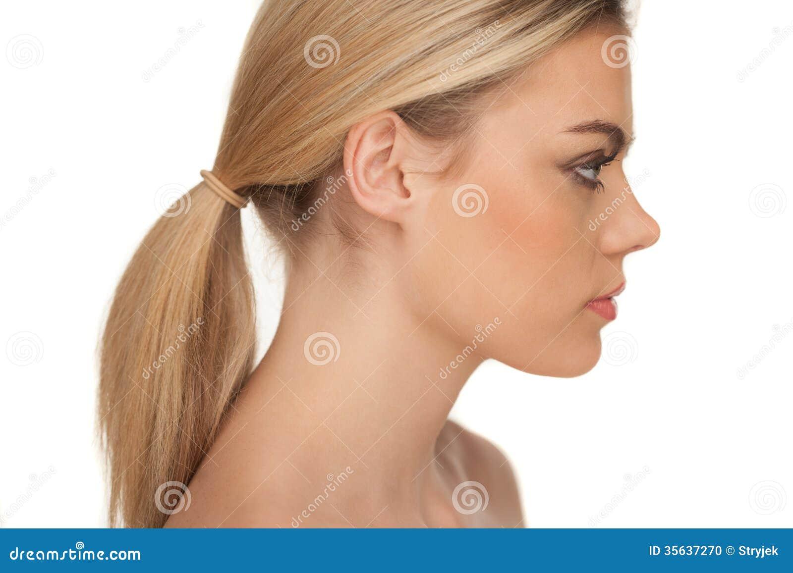 profielfoto vrouw blond