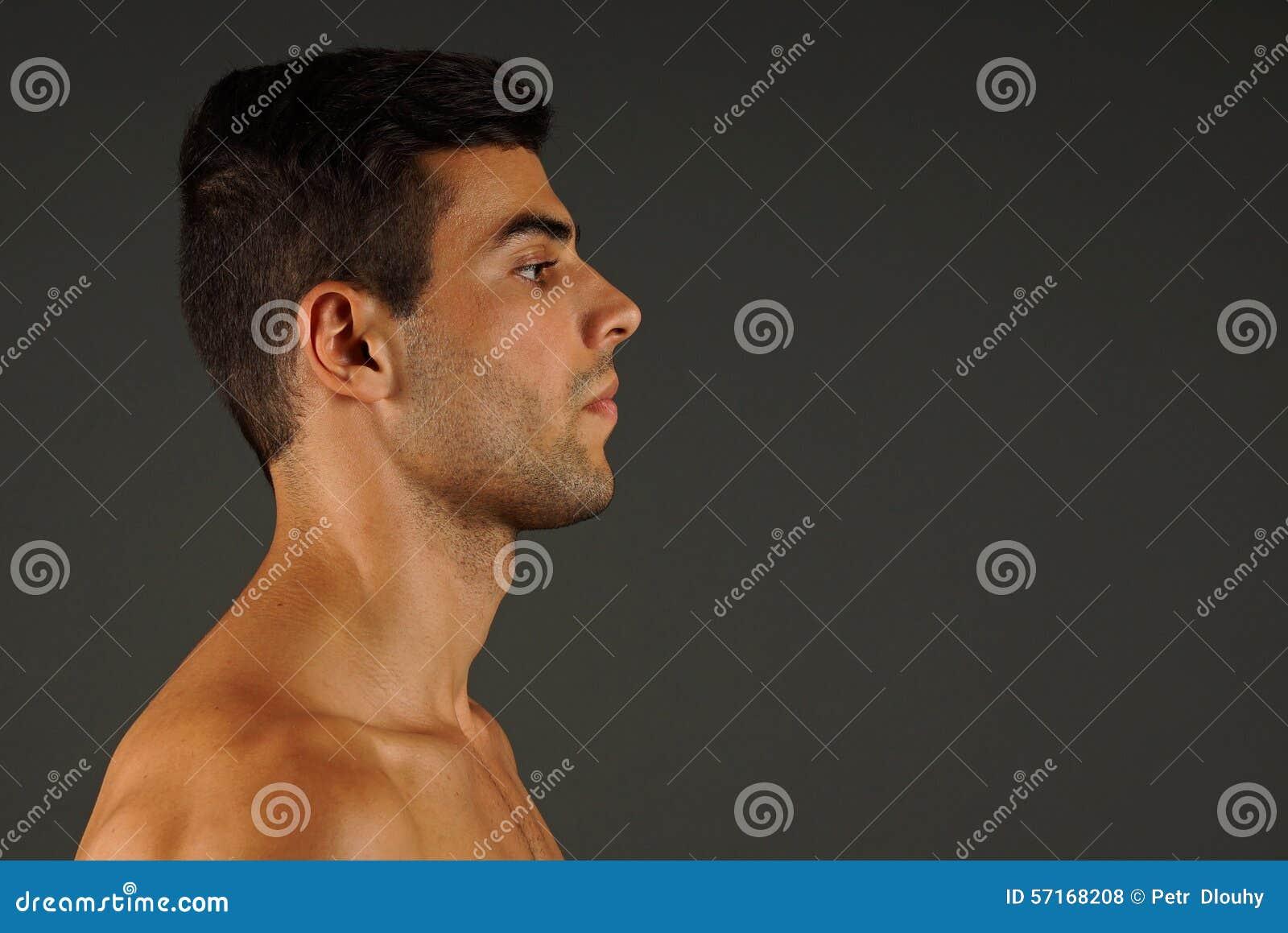 Profil młody człowiek