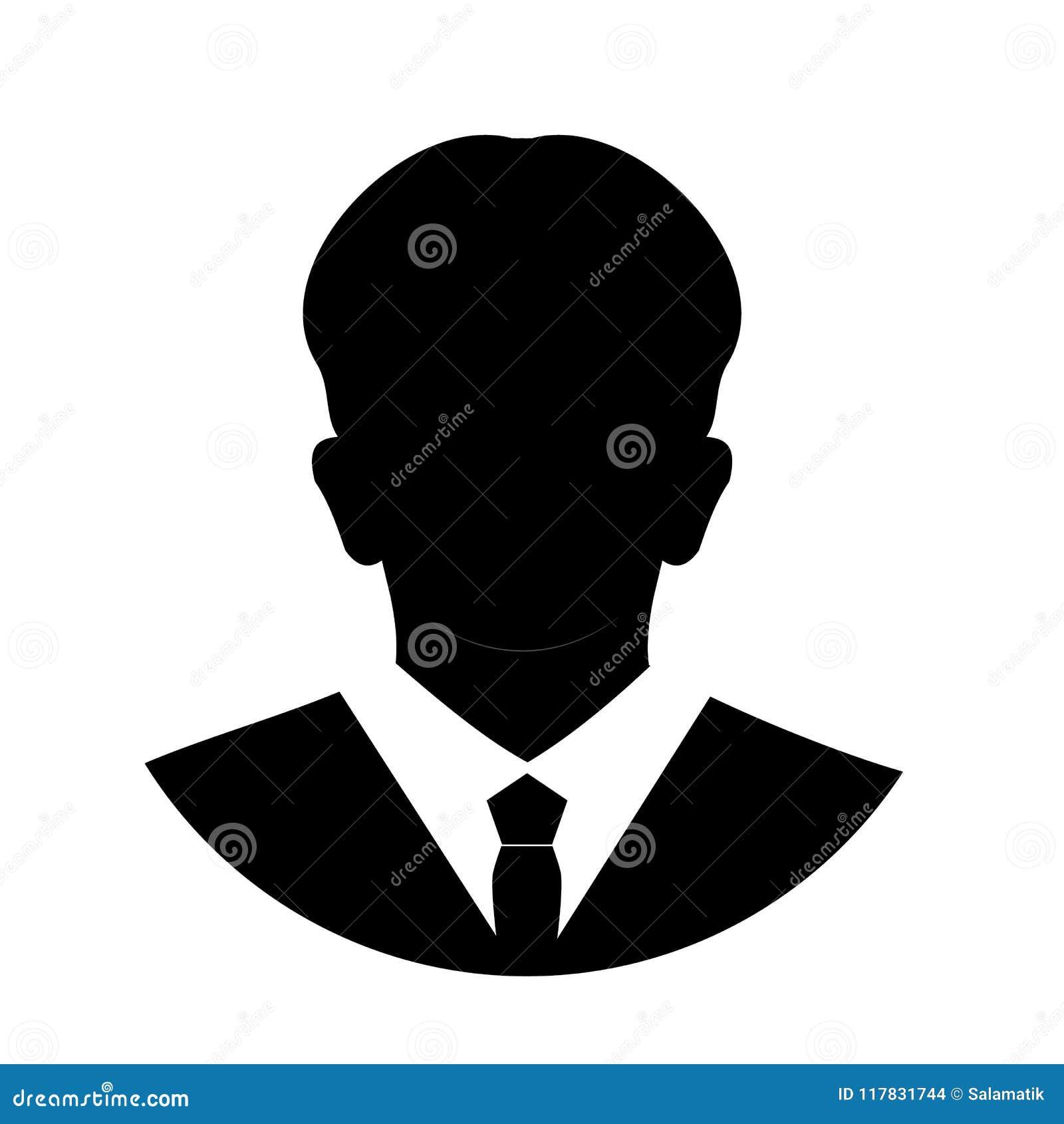 Profile Anonymous Face Icon  Gray Silhouette Person  Male