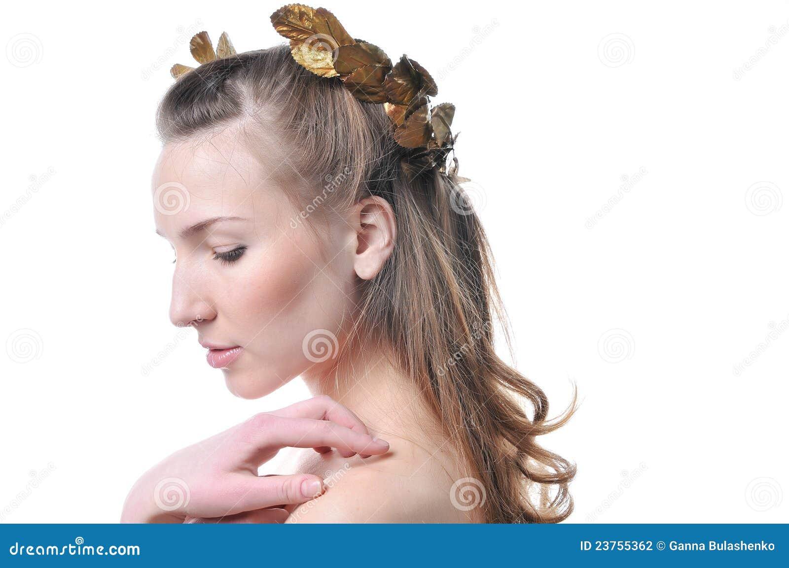 fb7dab13ca7 Profile Of A Beautiful Woman Stock Photo - Image of energy ...