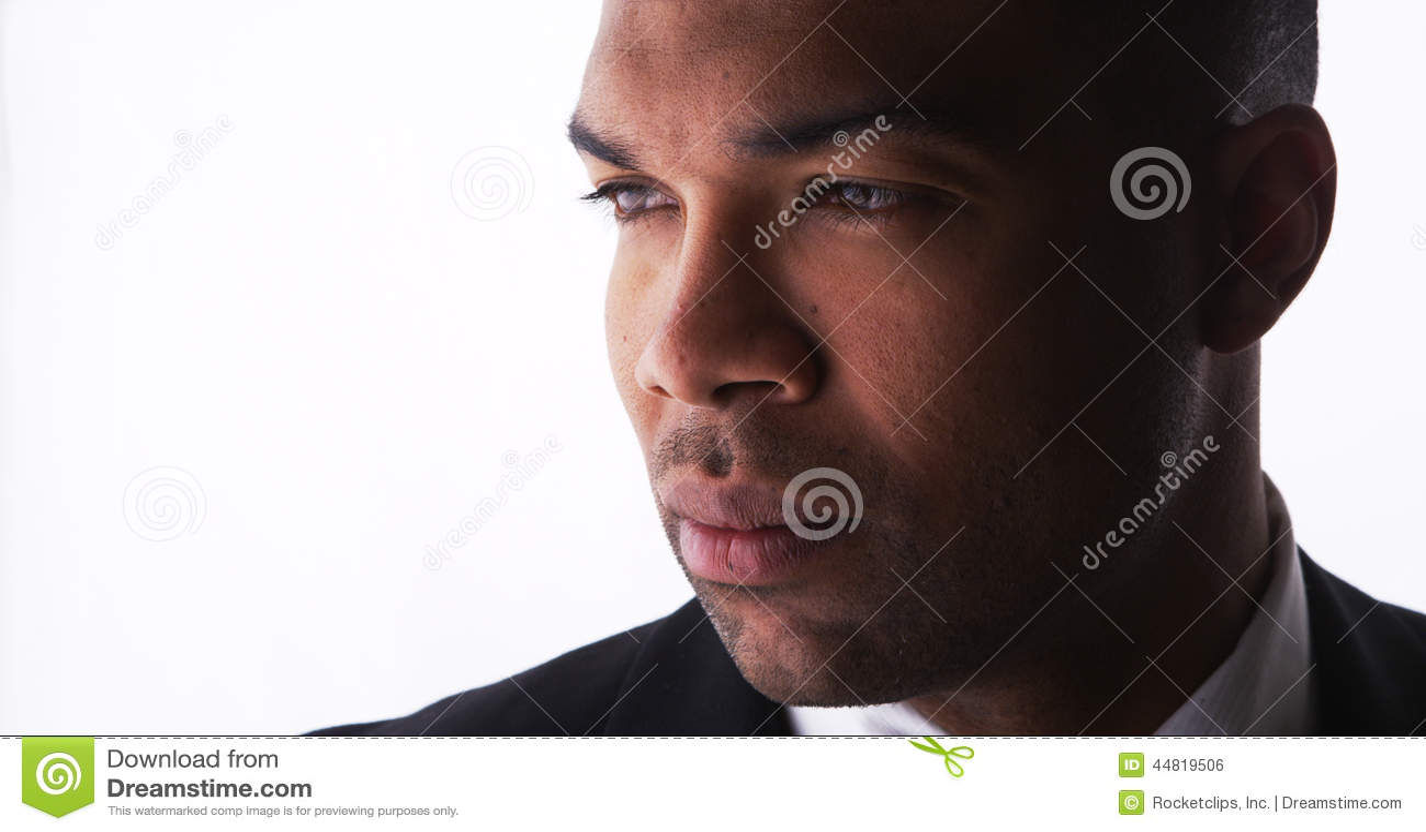 Man profile pic