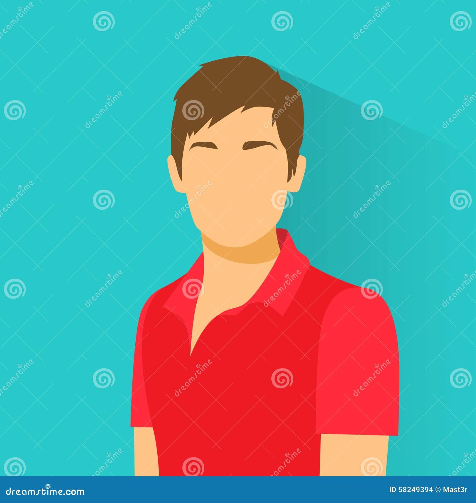 Profile Avatar: Profile Icon Male Avatar Portrait Casual Person Stock
