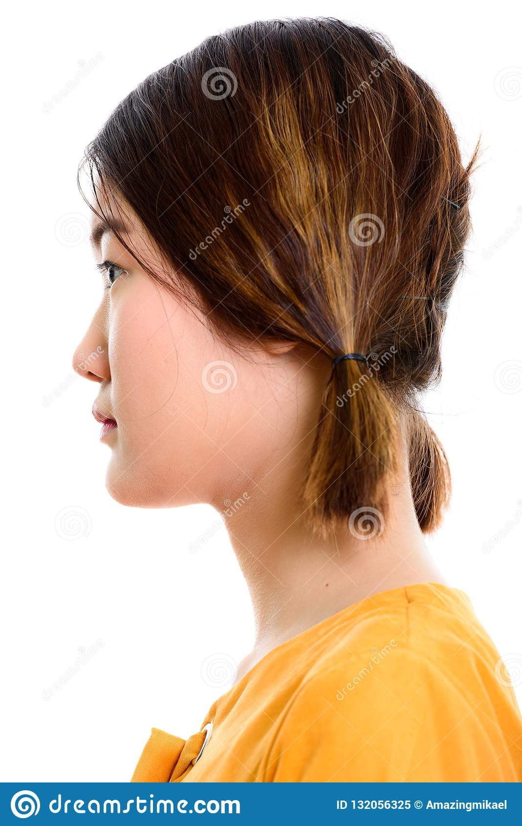 Asian Side View Stock Photos, Pictures & Royalty-Free