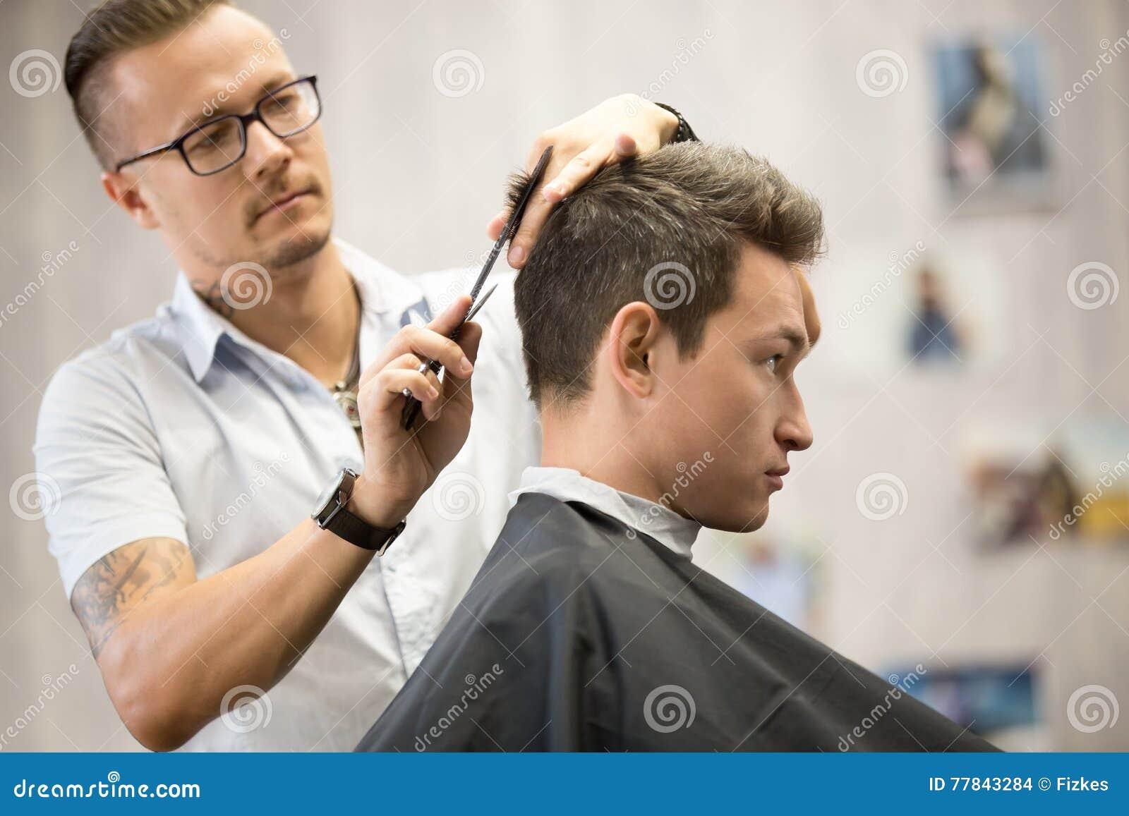 Getting A Haircut 21