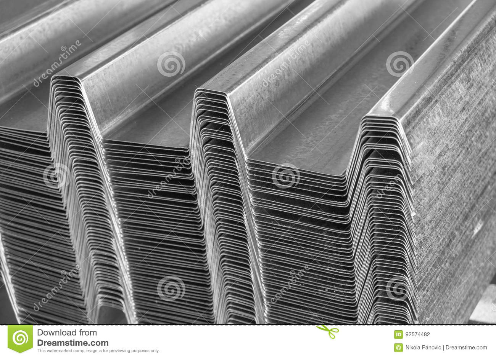 Profilo ondulato d acciaio galvanizzato del tetto