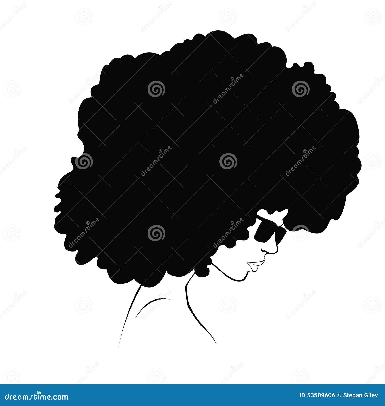 Profilowa sylwetka dziewczyna