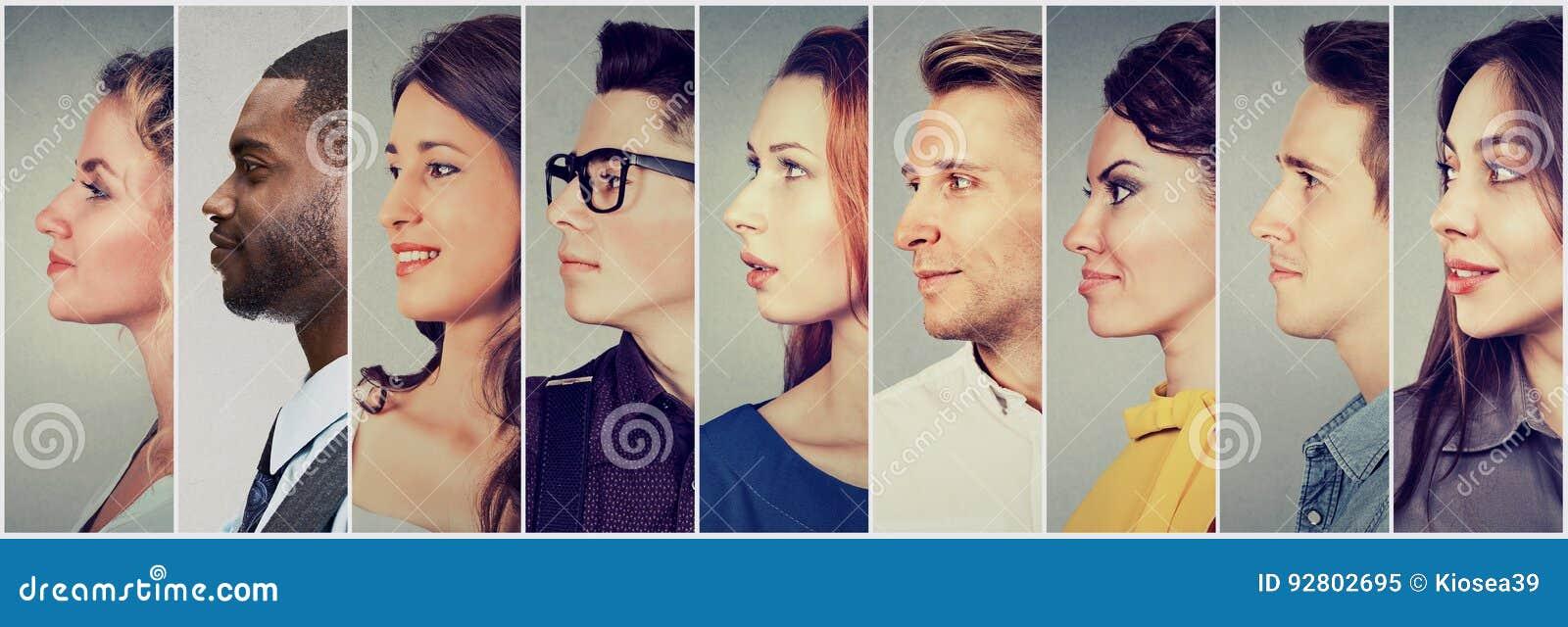 profils des femmes