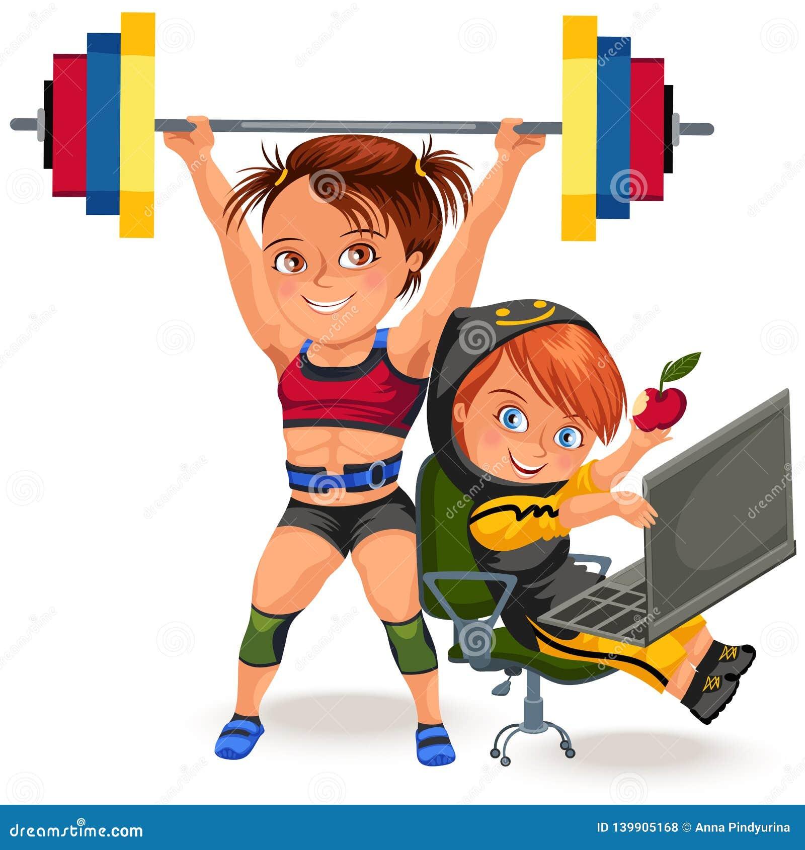 Profissões não fêmeas, halterofilismo muscular forte da mulher no biquini do terno dos esportes do sprt e no barbell de levantame