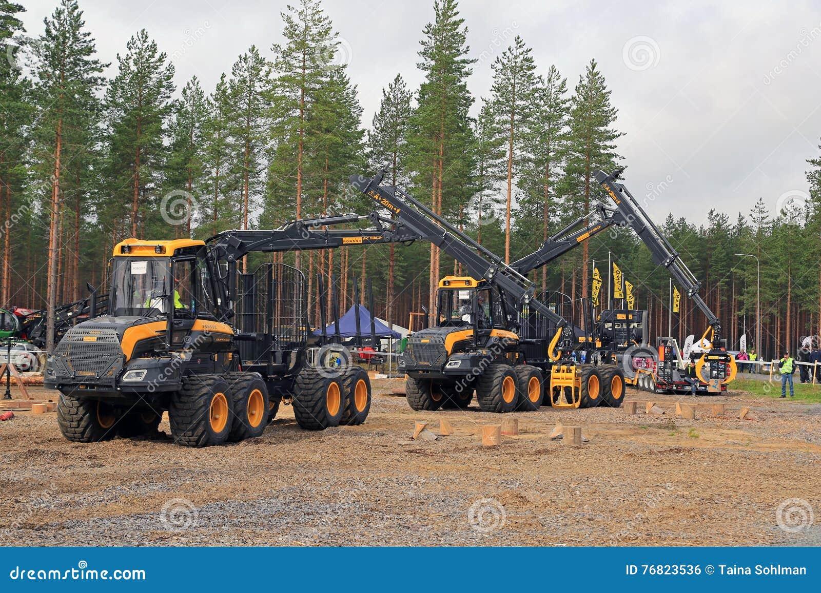 Profissionais em Forest Machine Operator Competition