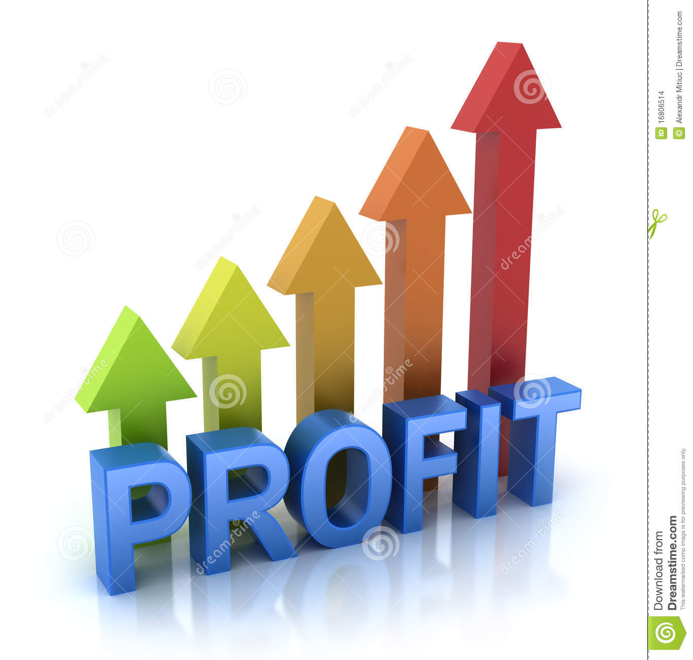 Graph Chart Invest Report Icon Concept Royalty Free Stock