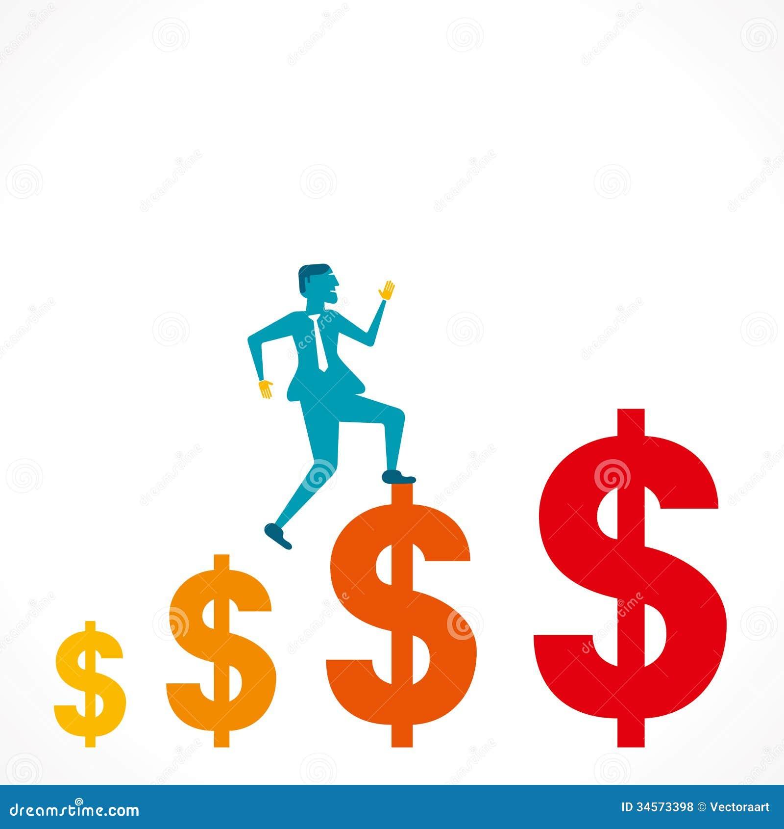 Profit Graph Royalty Free Stock Photos - Image: 34573398