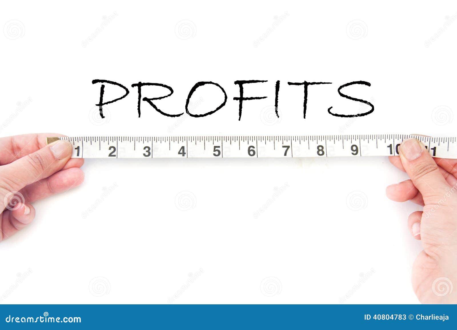 Profitti di Meausuring