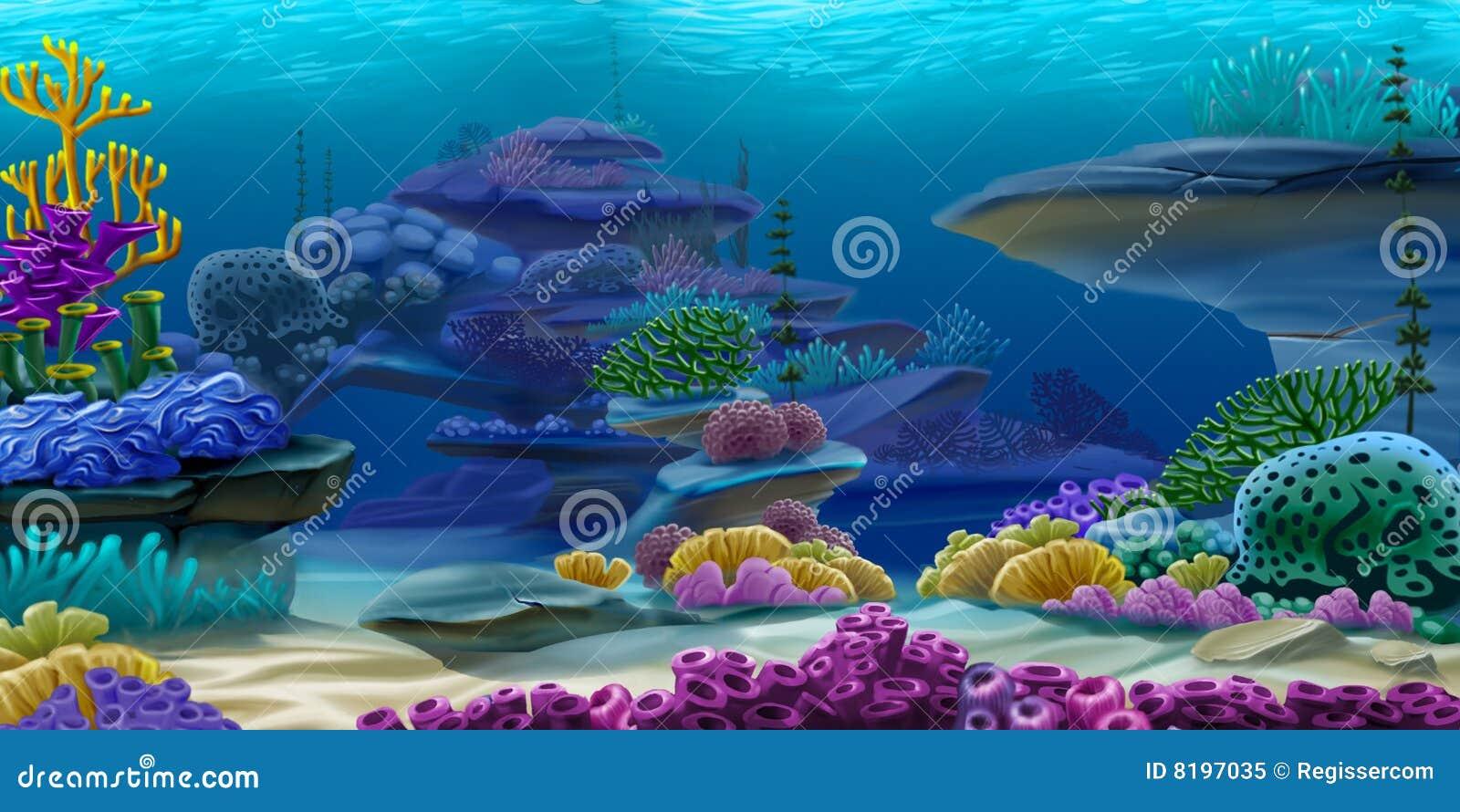 Profondément sous l eau
