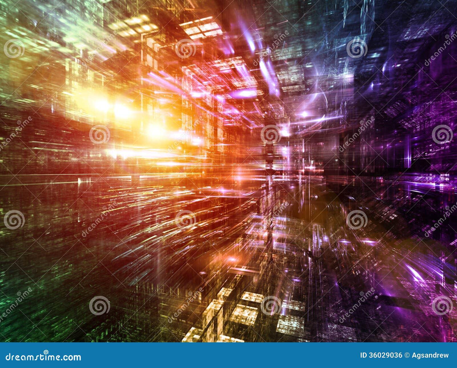 Profundidad del mundo del fractal