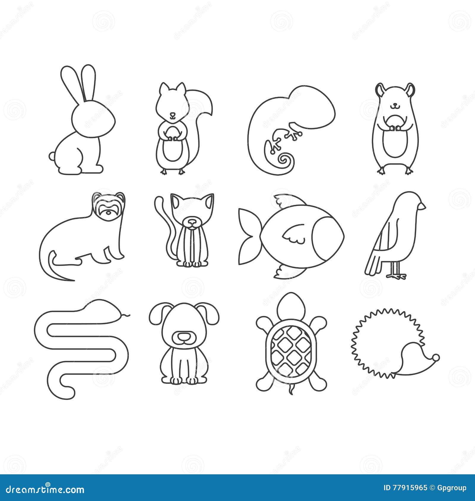 Progettazione animale del fumetto dell 39 animale domestico for Software di progettazione del pavimento domestico