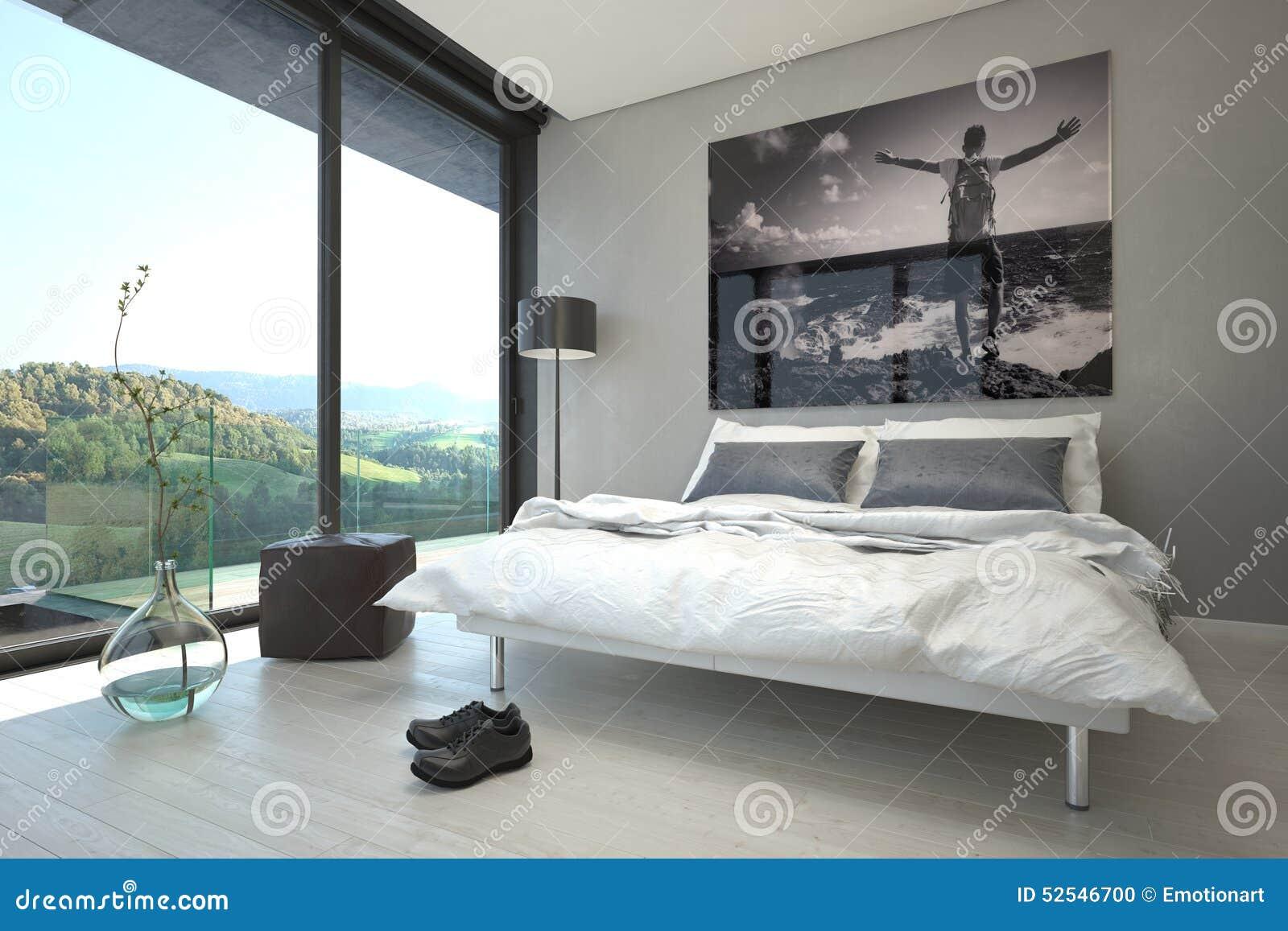 Bagno In Camera Con Vetrata : Progetti camere da letto con bagno: misure camera da letto consigli