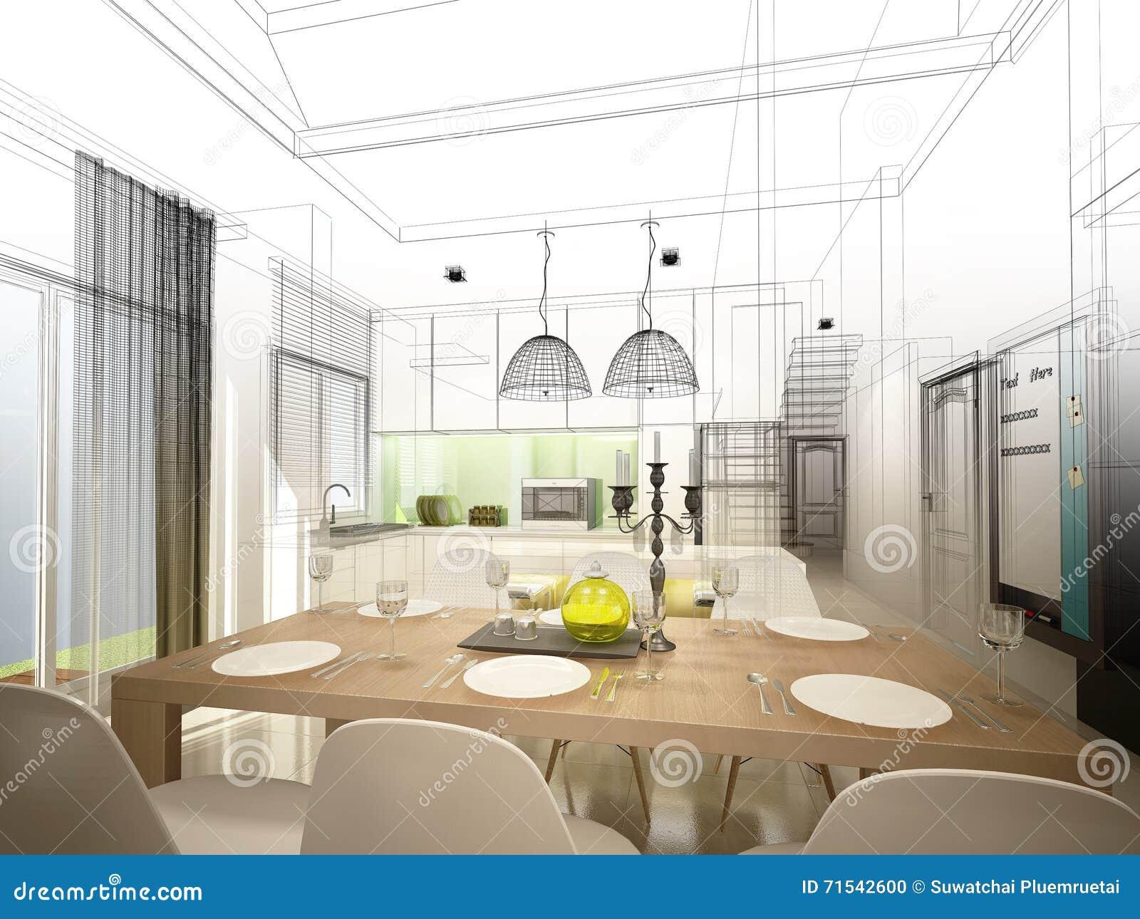 Progetta cucina 3d elegant studio bartolini rendering d for Progettare stanza 3d