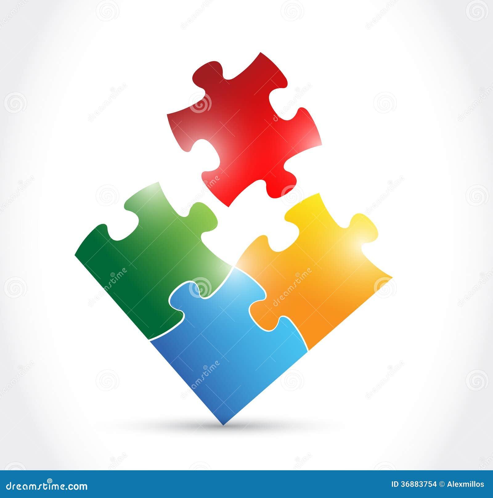 Download Progettazione Dell'illustrazione Di Puzzle Di Colore Illustrazione di Stock - Illustrazione di elemento, svago: 36883754