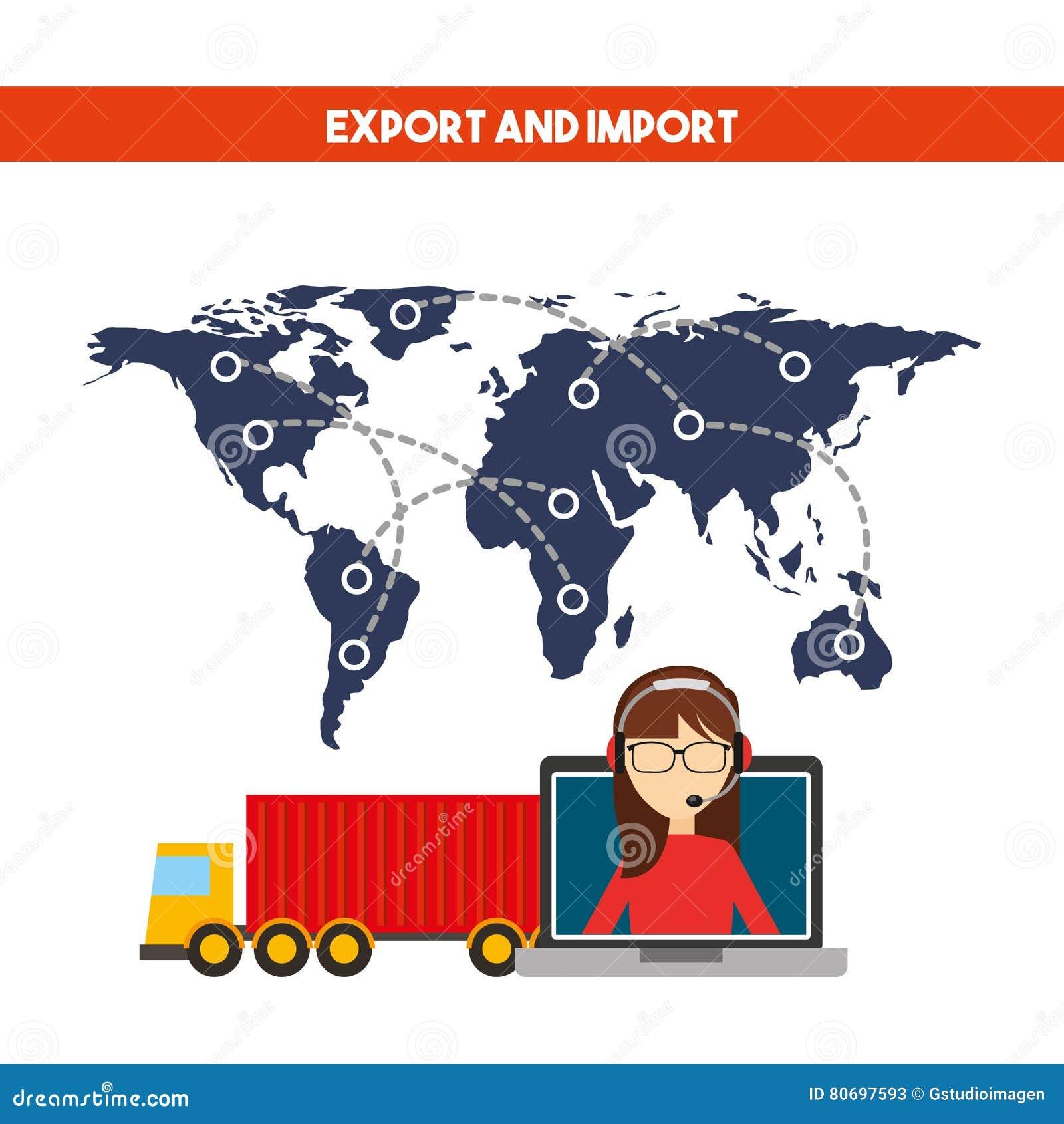 Progettazione dell importazione e dell esportazione