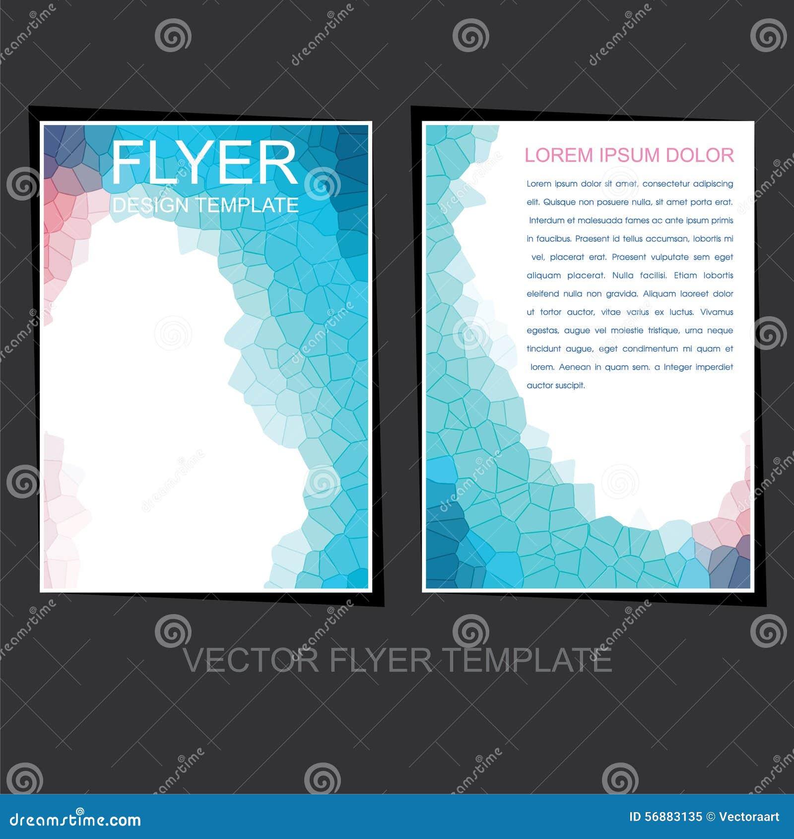 Progettazione dell opuscolo o dell aletta di filatoio di affari