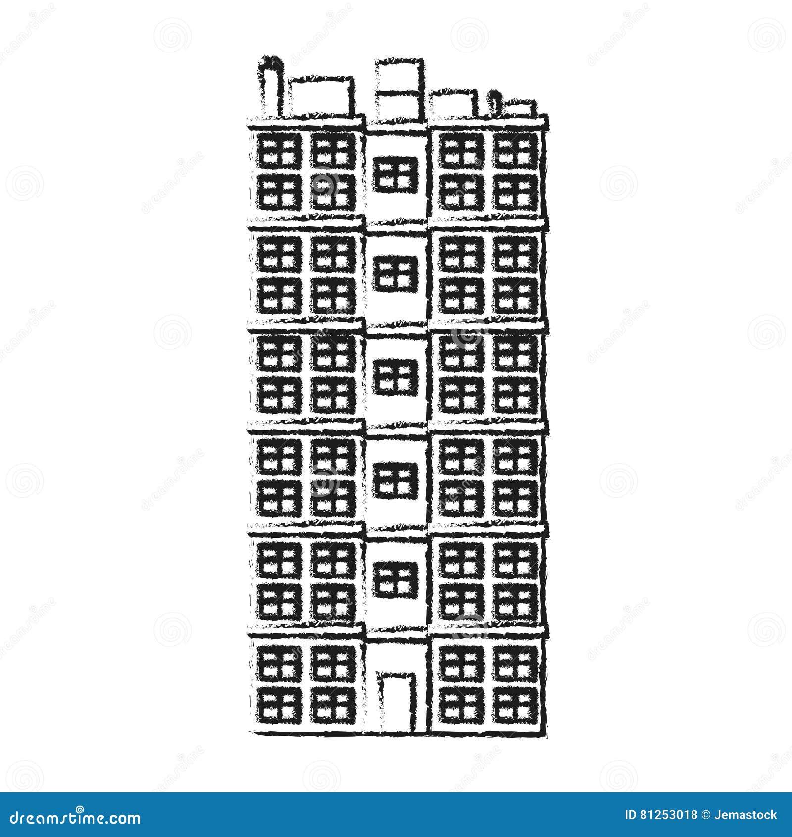 progettazione della costruzione della torre illustrazione