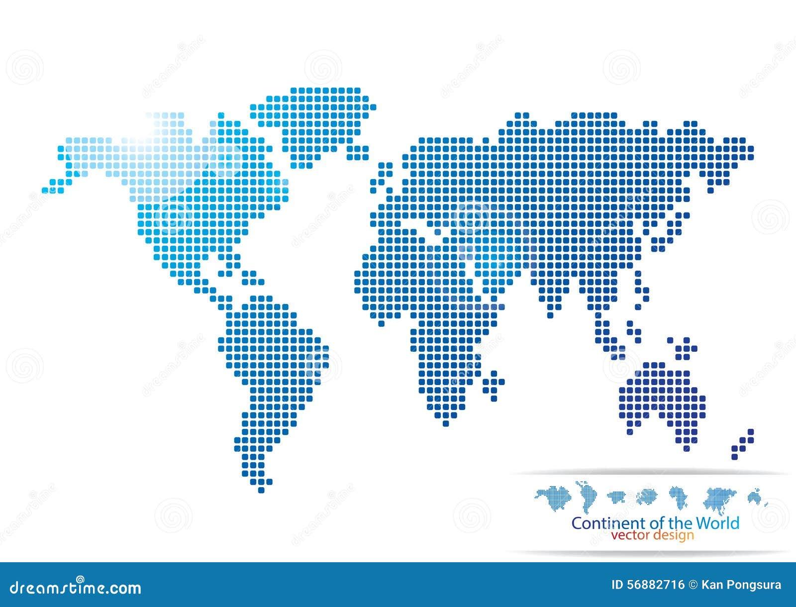 Progettazione della mappa di mondo