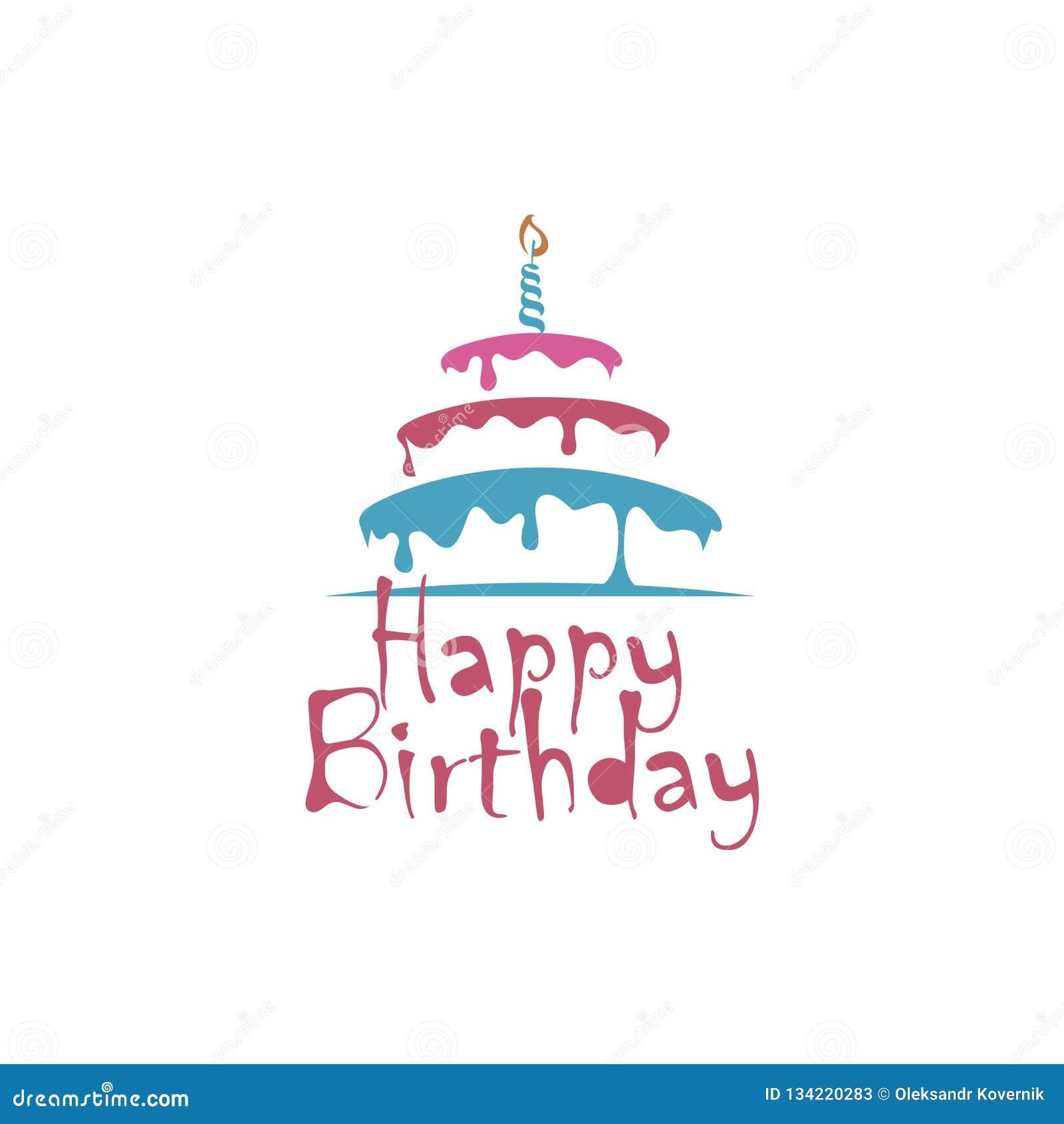 Progettazione della torta di compleanno