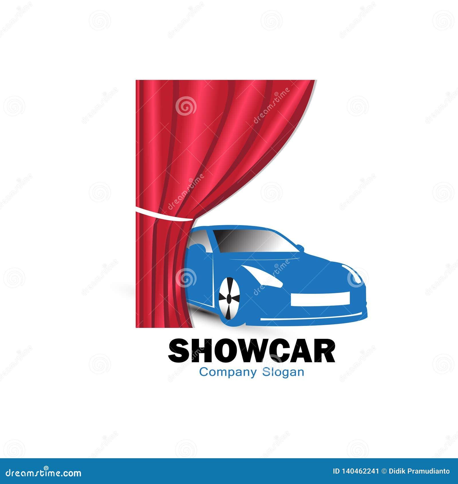 Progettazione di logo dell automobile di manifestazione per il lancio del modello nuovo dell automobile