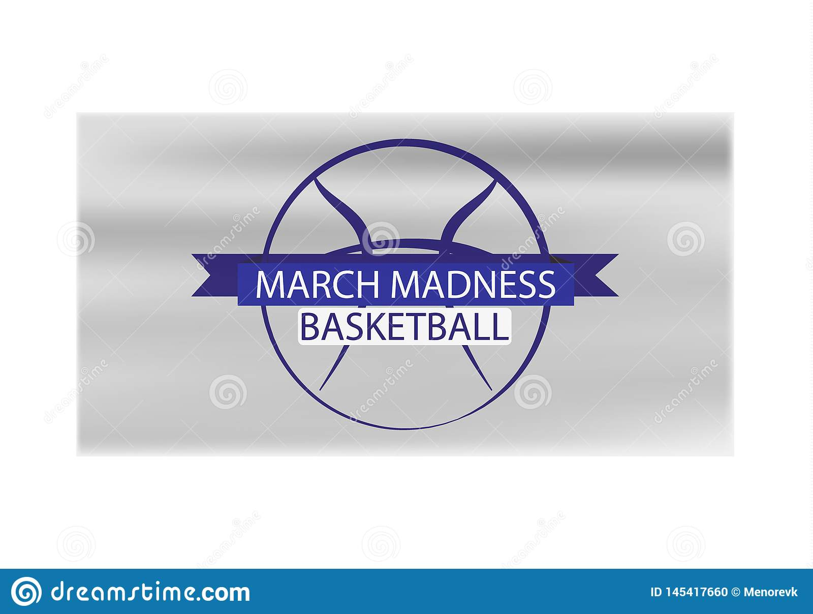 Progettazione di sport di pallacanestro di follia di marzo