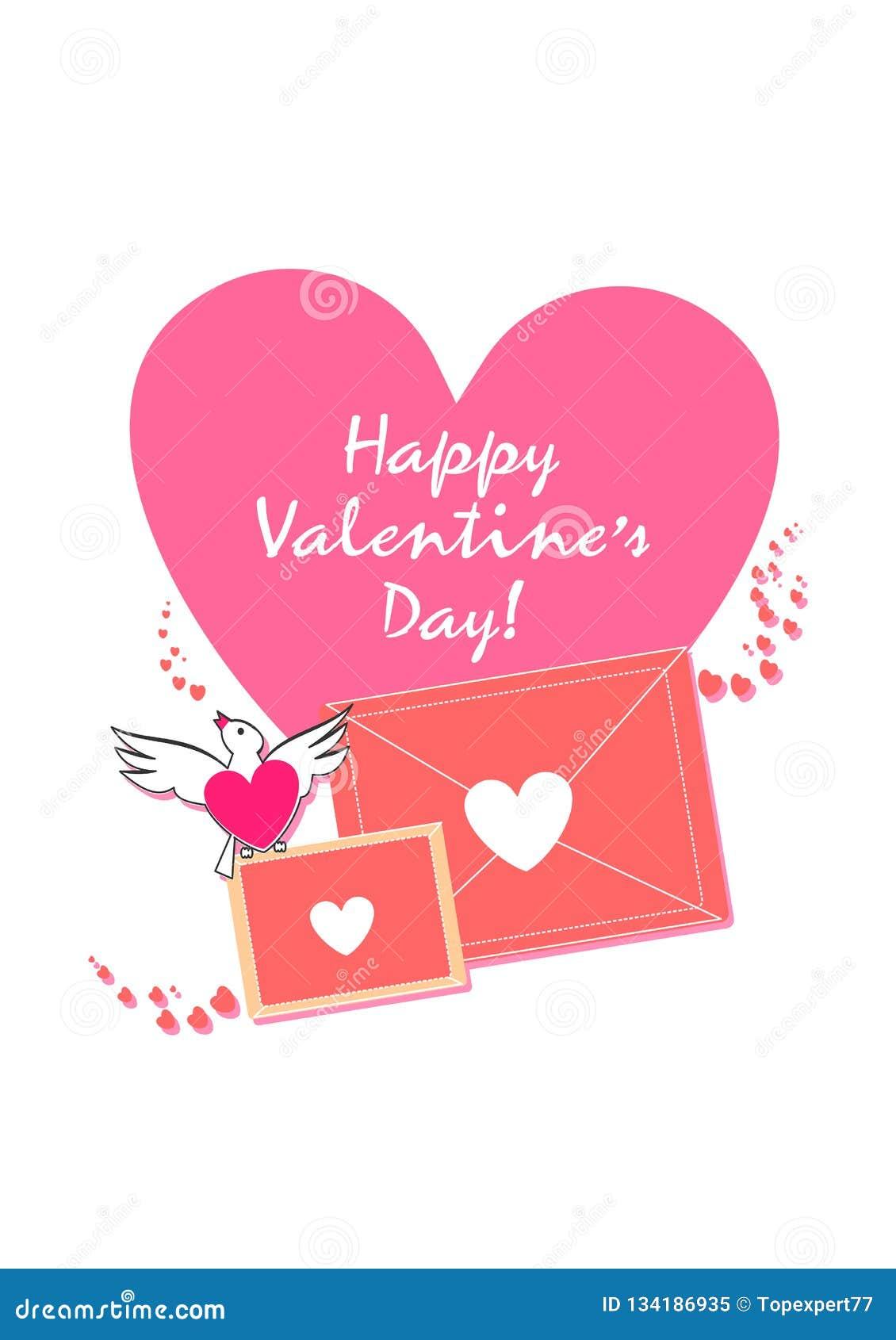 Progettazione esclusiva felice di giorno di biglietti di S. Valentino Amore & vita Sia il mio biglietto di S La carta del bigliet
