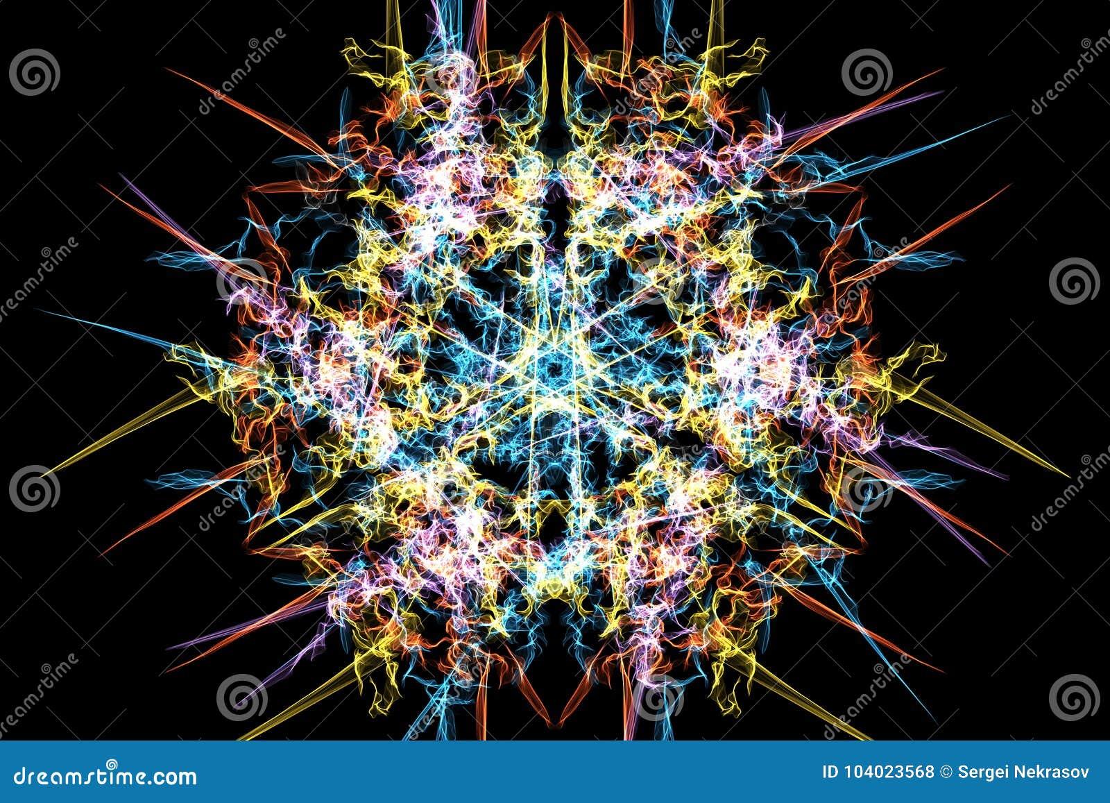 Progettazione geometrica sacra del modello dell estratto di Digital