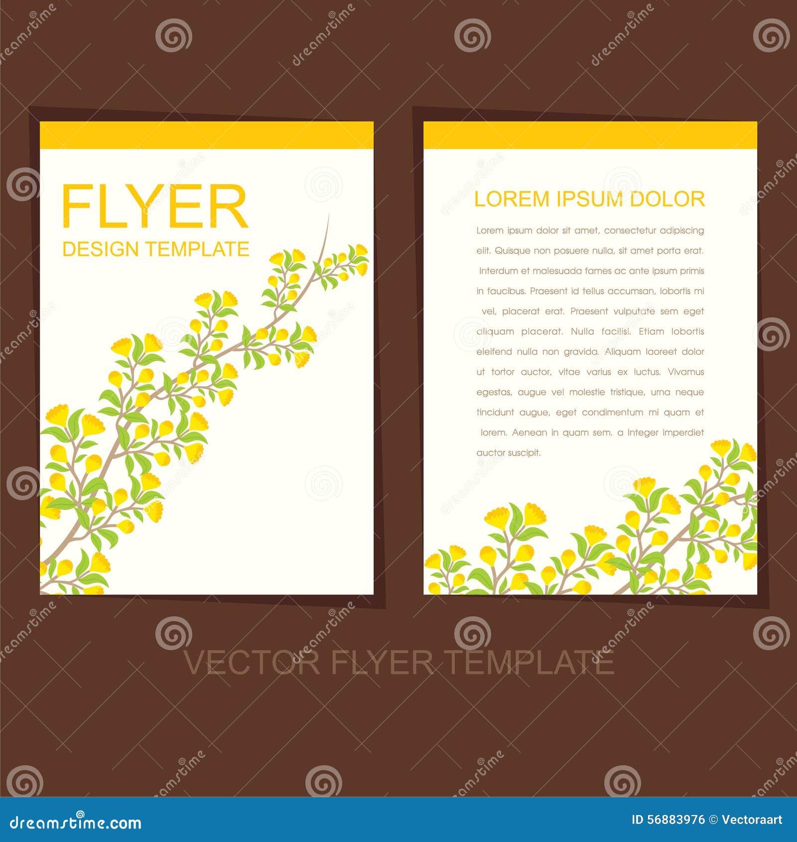 Progettazione naturale dell opuscolo o dell aletta di filatoio