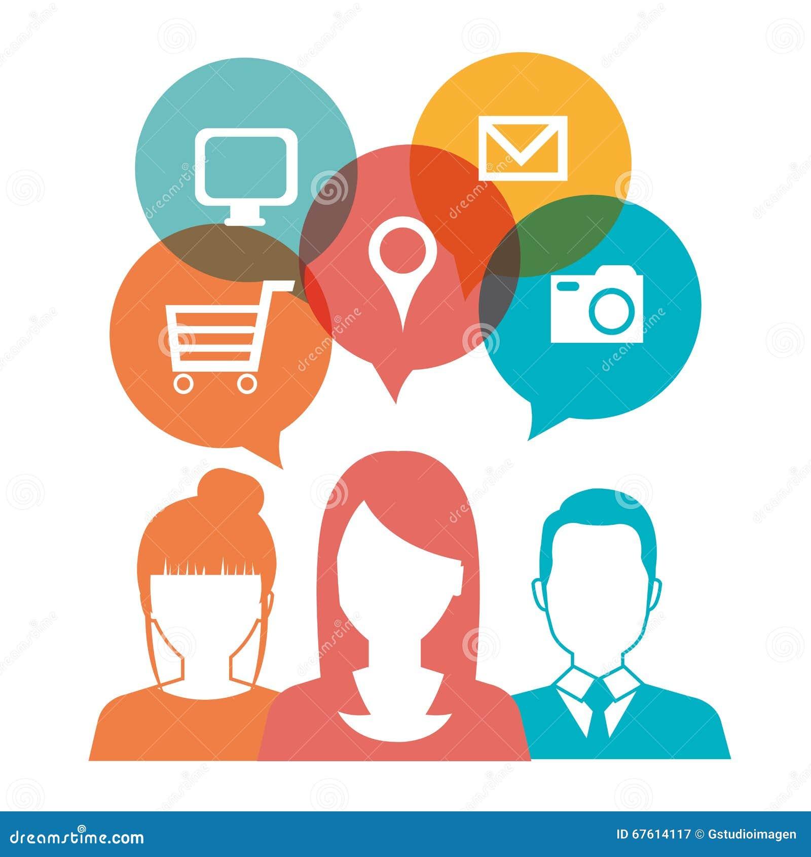 Progettazione online di media illustrazione di stock for Progettazione on line