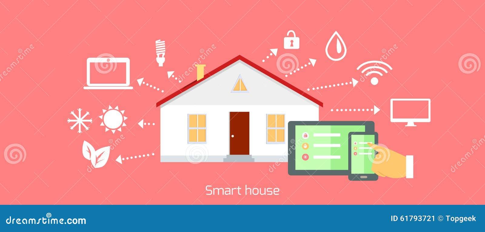 Progettazione piana dell 39 icona di concetto della casa for Aprire piani casa concetto