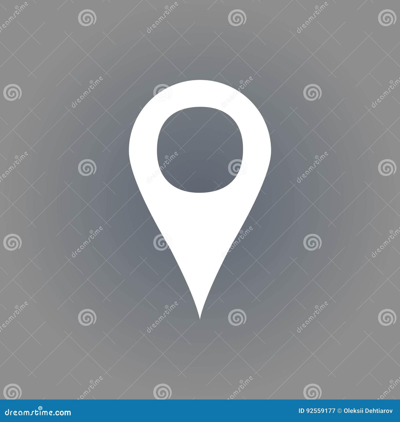 Progettazione piana dell illustrazione di vettore delle azione dell icona di navigazione