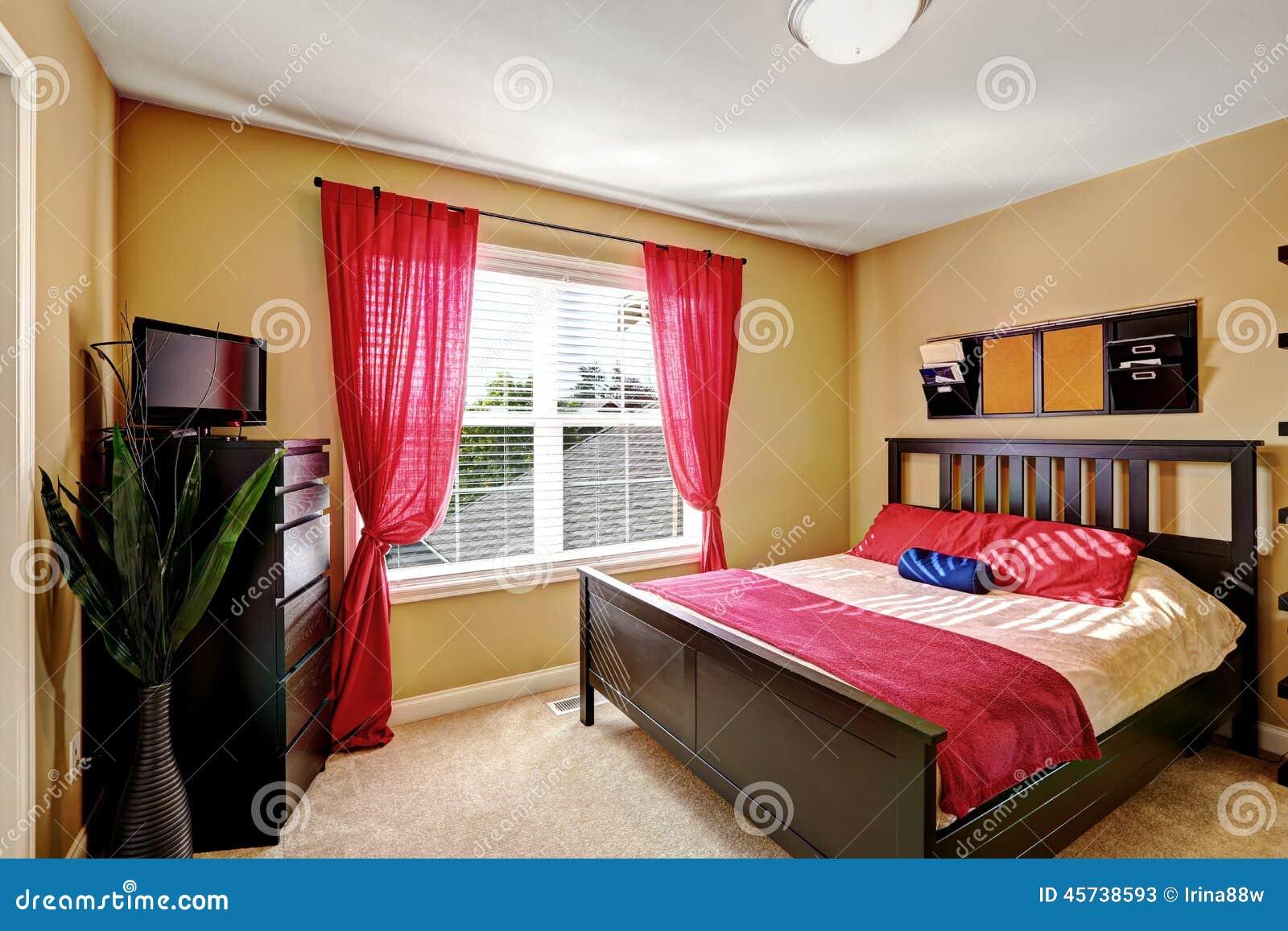 Progettazione semplice eppure pratica della camera da - Camera da letto con tv ...