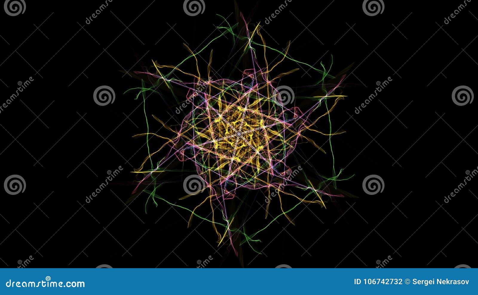 Progettazione simmetrica e variopinta Grafico di Digital