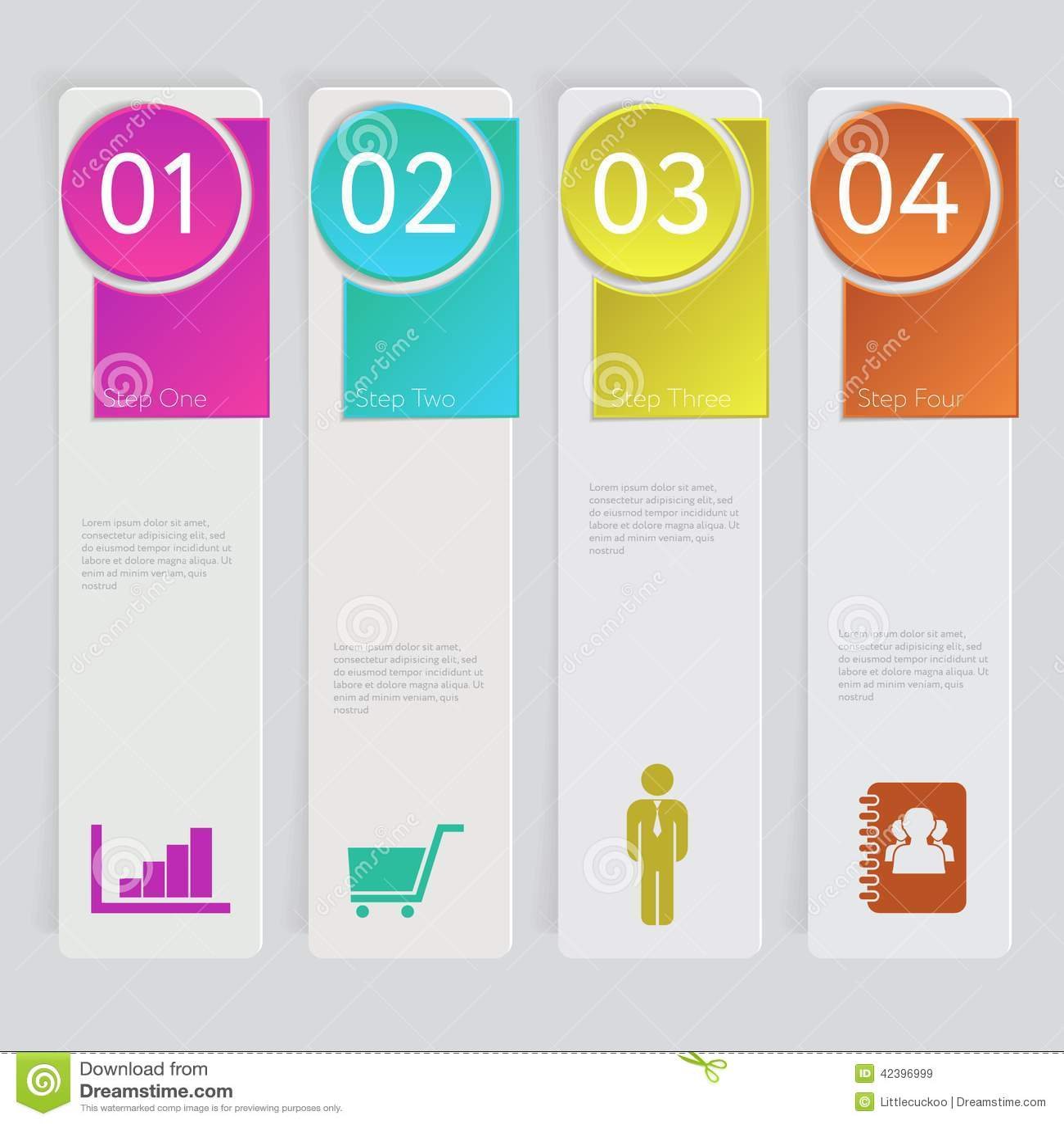 Progetti il grafico del modello delle insegne di numero o la disposizione del sito Web