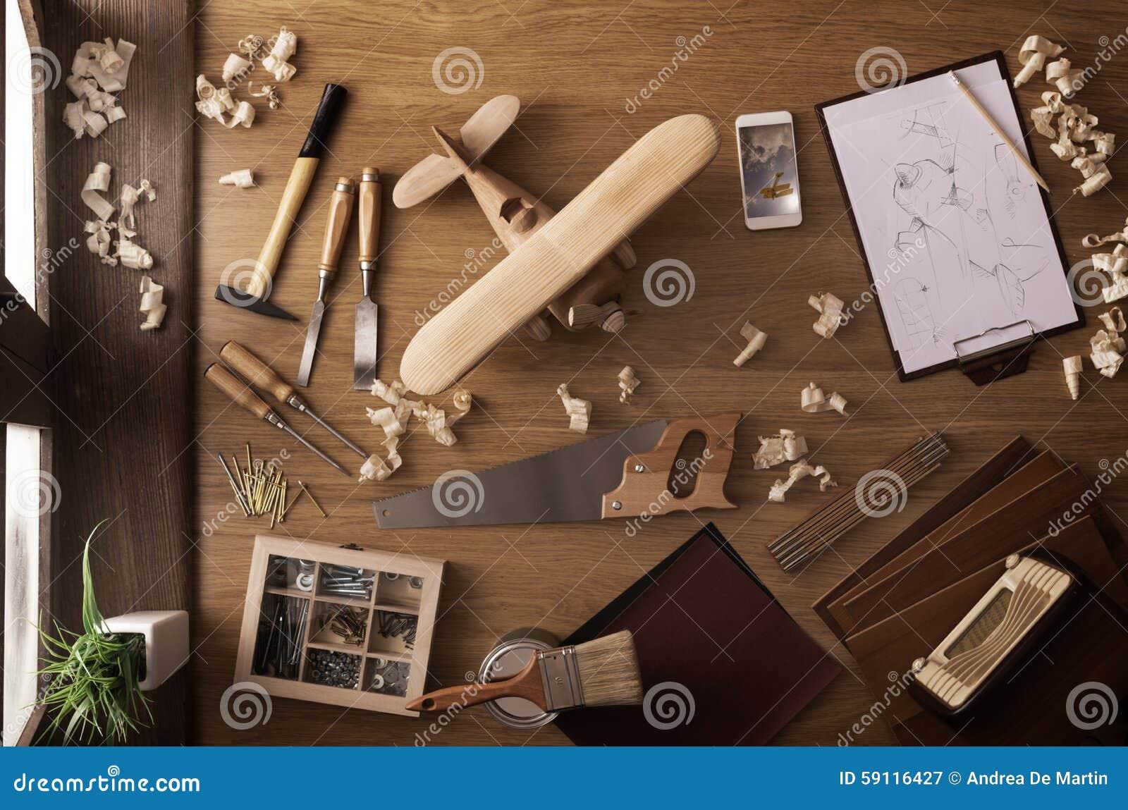 Progetto di diy a casa aeroplano di legno del giocattolo for Hobby del legno
