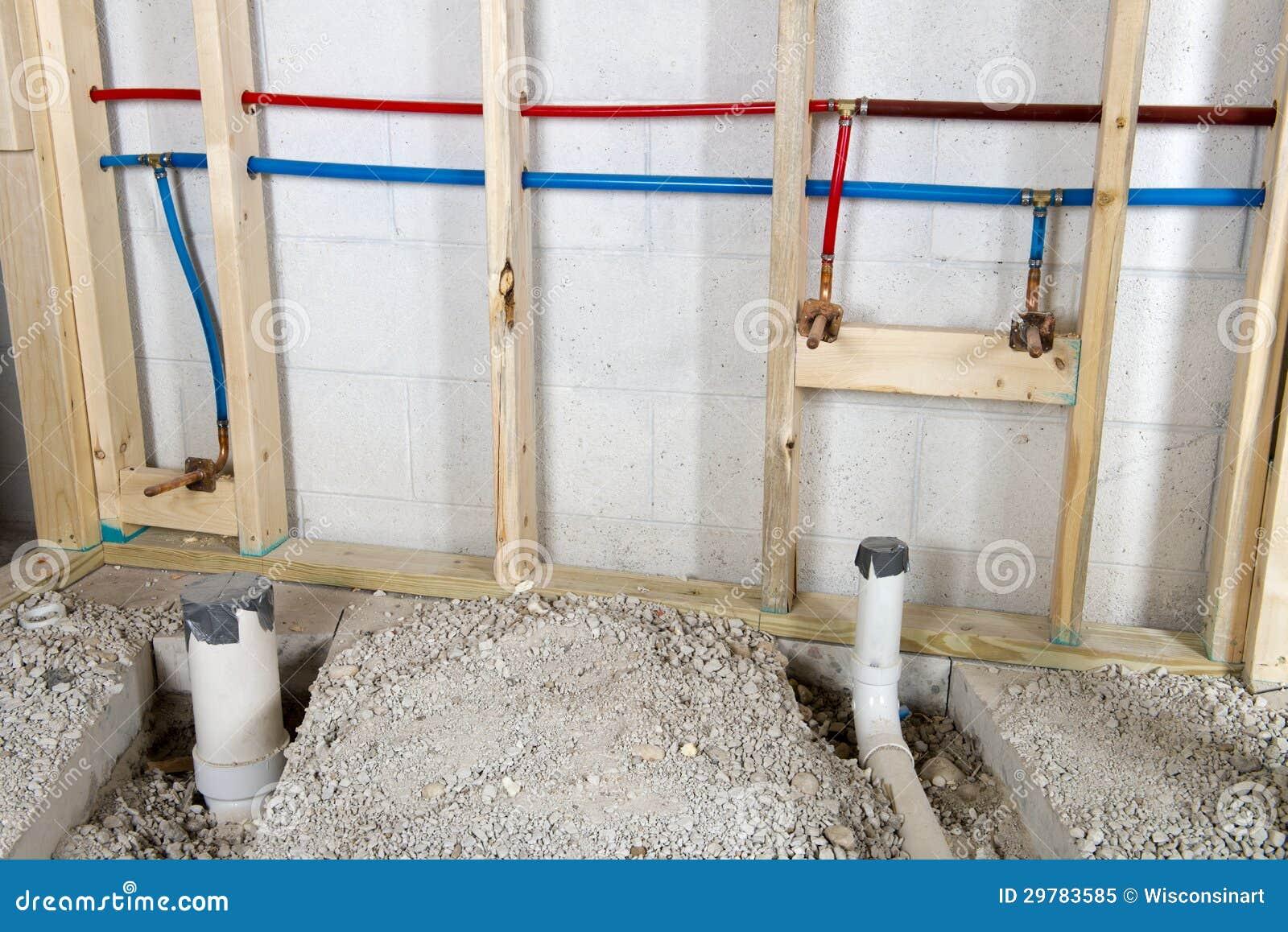 Tubi caldi e freddi dell 39 impianto idraulico dell 39 acqua for Pvc per acqua calda
