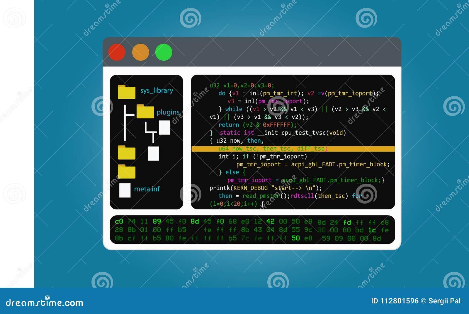 Program Code Editor, The Integrated Software Development