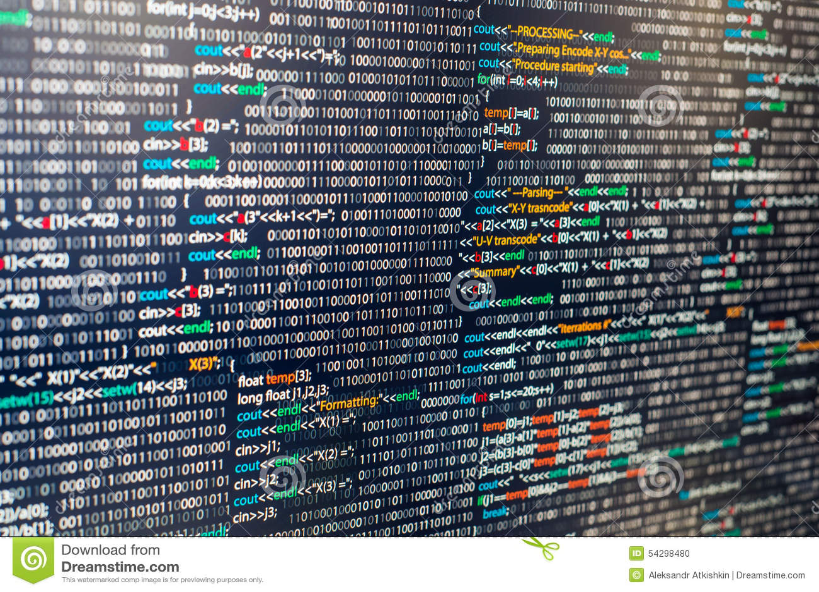 Program Stock Photo Image Of Board Python Program 54298480