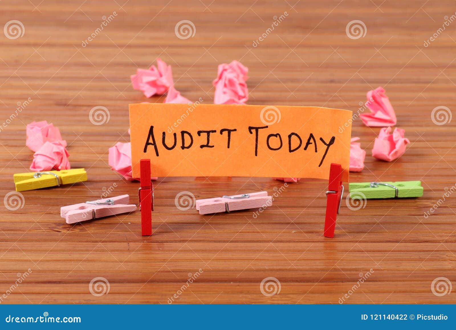 Programação da auditoria