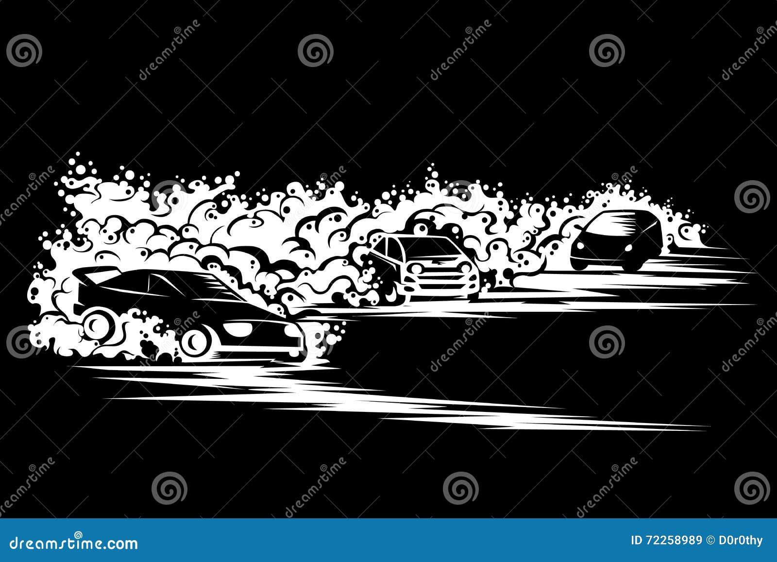 Programa De Carreras Del Hielo Ilustración del Vector - Ilustración ...